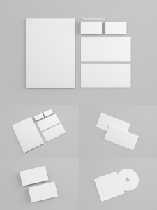 品牌VI设计效果预览办公用品样机模板 ProfessionalStationery Mockup插图6