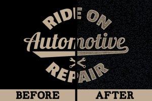 复古怀旧自动印刷效果图层样式 Vintage Auto-Press插图3