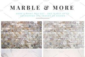 大理石&烫金锡纸纹理 Marble & More Backgrounds插图8