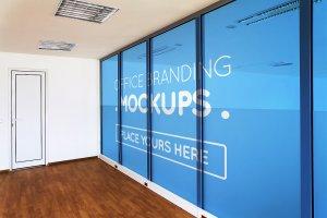 20多个办公室品牌样机展示模型mockups插图14