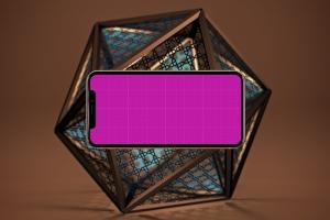 iPhone Xs智能手机屏幕设计预览样机模板 Arabic iPhone XS插图10
