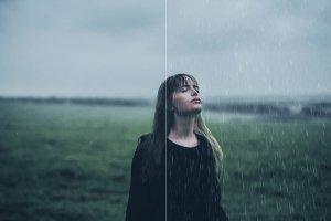 50款逼真雨天效果的PS笔刷 50 Rain Photoshop Brushes [abr]插图6