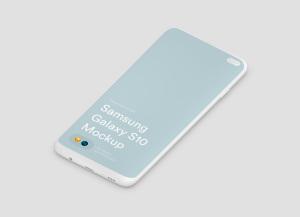 三星智能手机S10超级样机套装 Samsung Galaxy S10 Mockups插图40