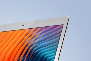 多角度的iPad Pro展示模型Mockup下载[psd]插图7