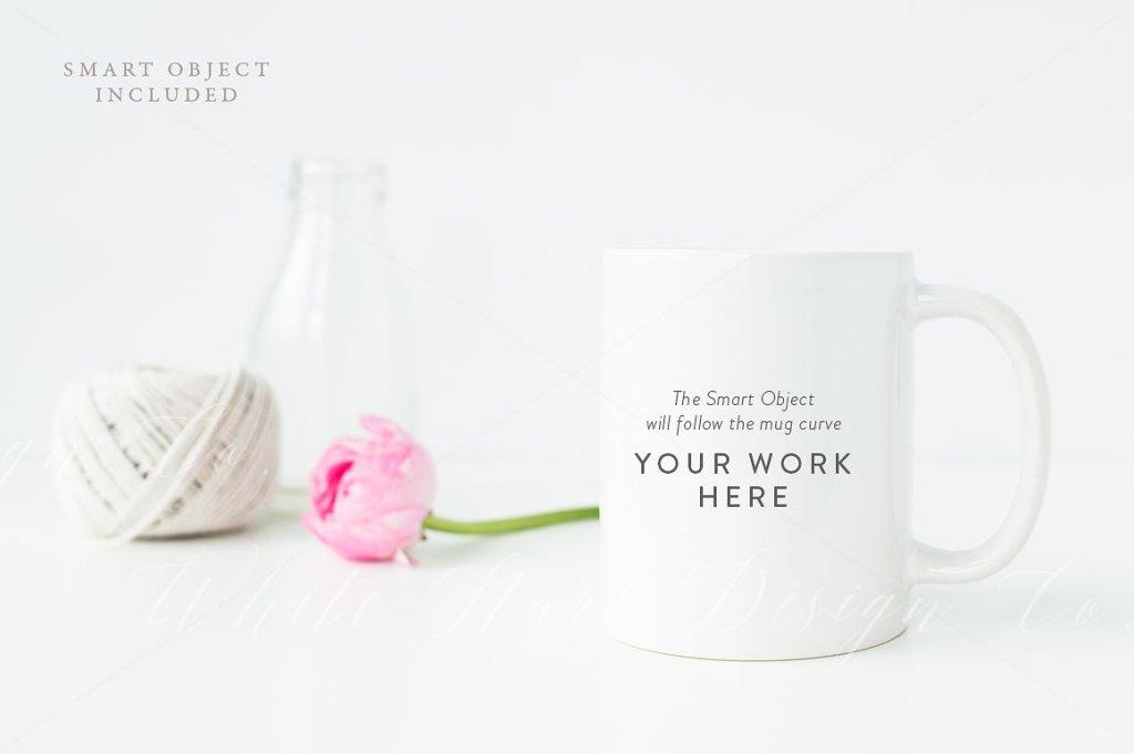 马克杯造型模型 Styled MUG mock up插图