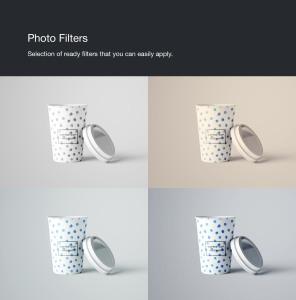 7个咖啡纸杯设计图PSD样机模板 7 PSD Coffee Cup Mockups插图10