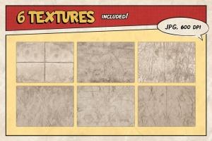 漫威&DC欧美复古漫画插画设计工具包插图(12)