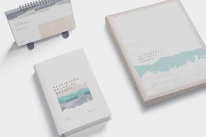 企业品牌VI设计预览办公用品样机模板 Stationery Branding Mockup Scenes插图3