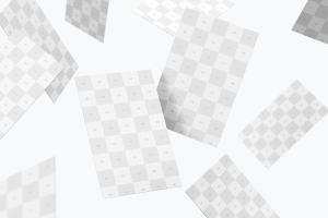 UK标准尺寸高端企业名片设计样机模板05 UK Business Card Mockup 05插图4