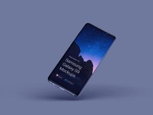 超级主流桌面&移动设备样机系列:Samsung Galaxy S9  三星智能手机样机 [兼容PS,Sketch;共2.11GB]插图5