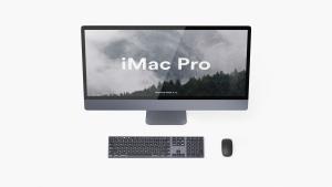 5K高分辨率iMac Pro一体机多角度样机模板 iMac Pro Kit插图10