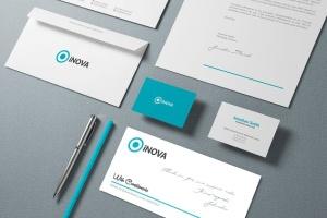 企业品牌VI设计办公文具样机模板v1 Branding / Identity Mock-up插图2
