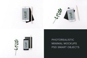 iPad & iPhone 真实场景样机模板 Minimal Mockup Pack Photorealistic插图5