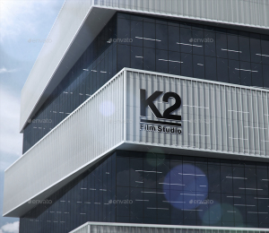 3D标志LOGO高楼墙面展示效果Mockups插图7