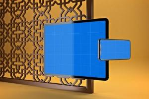 阿拉伯文APP应用iPhone XS和iPad Pro样机模板 Arabic iPhone XS & iPad Pro插图11