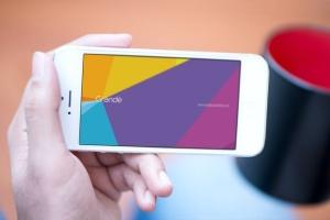 真实使用场景iOS设备样机模板 iOS Devices Mockups插图6