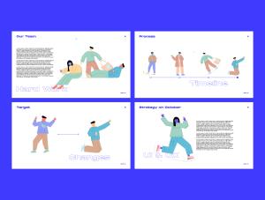 一流设计素材网下午茶:社交媒体生活概念矢量插画素材下载[Ai]插图6