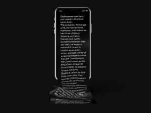 不一样的长滚动创意界面 iPhone X 样机 Free Long Scroll iPhone X Mockup插图1