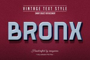 复古条纹风格文本图层样式 Vintage / Retro Text Styles插图6