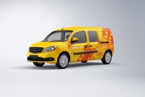 紧凑型厢式小货车样机 Compact Van Mock-up插图1
