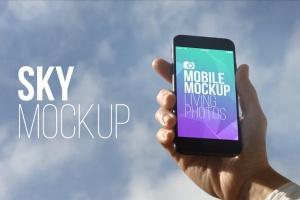 实景iPhone展示样机模板合集 Mobile Mockup Living Photos插图8
