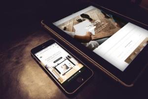 响应式网站设计多设备样机合集 Lifestyle Responsive iPhone Mock-Up插图4