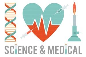 自然&医疗主题设计免费剪贴画素材 Science & Medical Clipart Graphics插图1