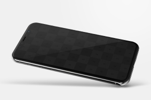 iPhone X手机屏幕设计图预览样机模板06 iPhone X Mockup 06插图2
