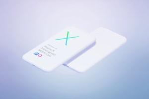极简主义iPhone X样机模板 Phone X Minimalistic Mock-Ups插图10