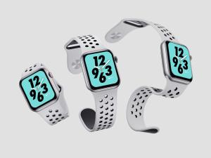 苹果第四代智能手表超级样机套装 Apple Watch 4 Mockups插图14