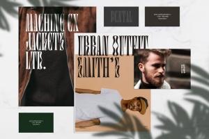 极简主义品牌文具样机模板V3 Pental No. 3 – Minimalist Stationery Mockup插图2