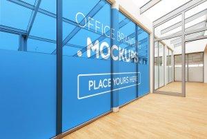 20多个办公室品牌样机展示模型mockups插图4