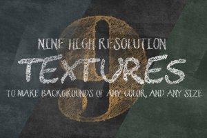 粉笔画粉笔字体样式&PS笔刷 Chalkboard Generator插图4