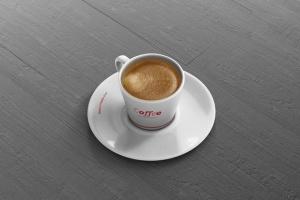 高品质的咖啡马克杯样机展示模板 Coffee Cup Mockup – Cone Shape插图9