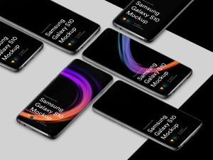 三星智能手机S10超级样机套装 Samsung Galaxy S10 Mockups插图53