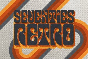 70s年度复古风格文本样式图层 70s Text Effects for Photoshop插图13