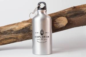 钢本色运动水杯样机展示模板 Sport Bottle Mock Up插图2