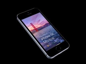 超级主流桌面&移动设备样机系列:iPhone SE 智能手机样机 [兼容PS,Sketch;共3.13GB]插图8