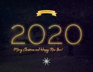 圣诞节主题海报文字样式PSD分层模板 Christmas Text Effects插图8