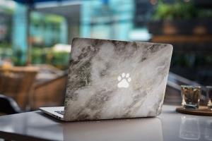 Macbook A面定制外观样机模板 MacBook Skin Mock-Up插图4
