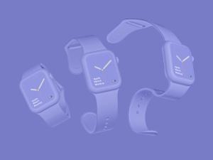 苹果第四代智能手表超级样机套装 Apple Watch 4 Mockups插图16