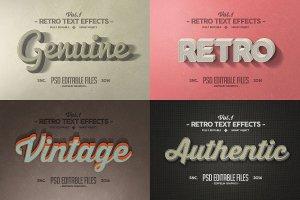 一流设计素材网下午茶:150款3D文字效果的PS图层样式 150 3D Text Effects for Photoshop–2.61 GB插图13