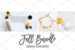 现代简约风办公场景样机 Fall Stock Photo Bundle插图6