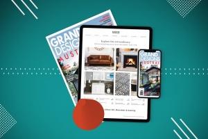 杂志印刷设计/杂志APP设计图预览样机样机 Abstract Magazine App Mouckup插图7