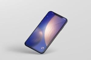 高品质的iPhone XS Max智能手机样机模板 Phone XS Max Mockup插图2