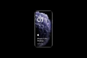全新iPhone 11 Pro手机屏幕界面演示样机模板[PSD格式]插图4