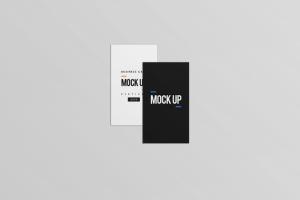 等距平铺企业名片设计样机模板 Business Card Mock Up插图11
