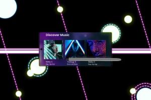 酷黑背景三星智能手机Note 10多角度屏幕预览样机模板 Neon Note 10 MockUp插图5