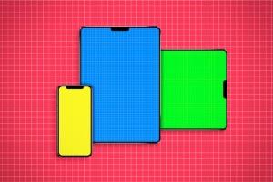 逼真的iPhoneX和iPad设备样机模板 iPhone & iPad X Mockup插图10