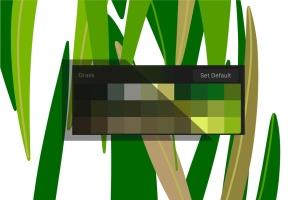 草坪草地颜色Procreate应用调色板PS图案 Procreate palette. Grass插图2